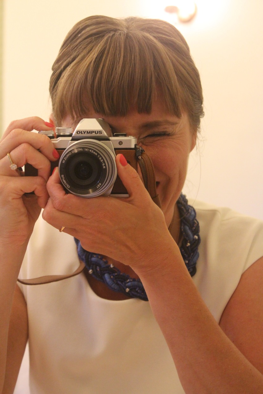 Minä ja kamera.