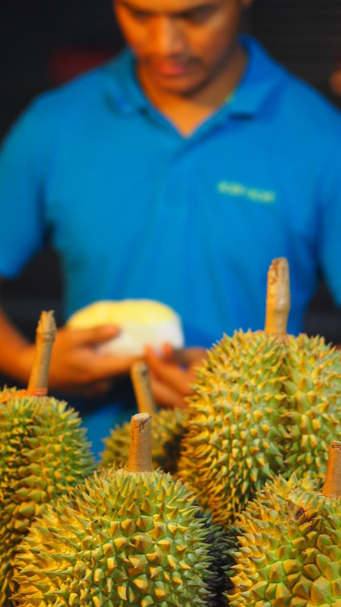 Durian on aasialaisten mämmi.